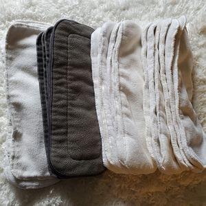23 Microfiber Cloth Diaper Inserts